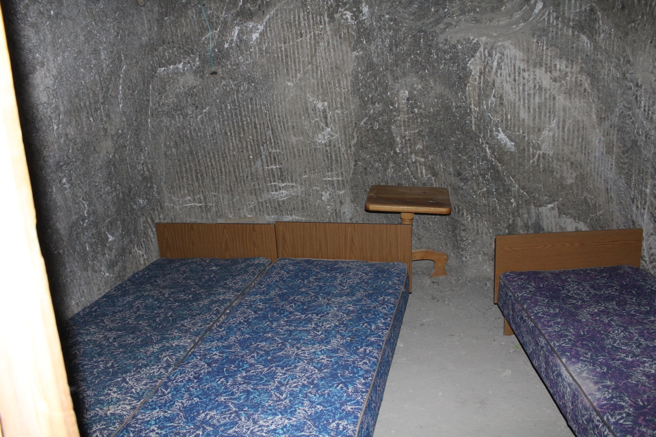 Chambre Sanatorium Cavités Mine Sel