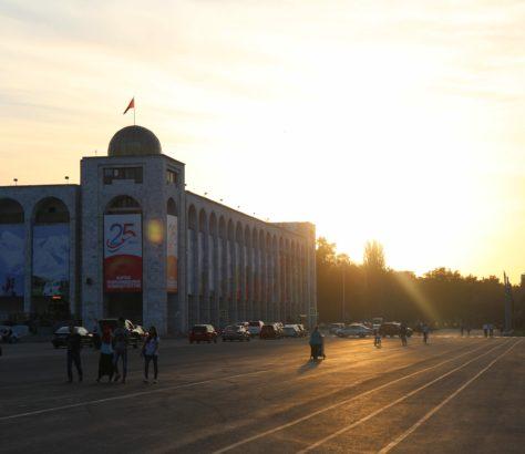 Das kirgisische Bischkek