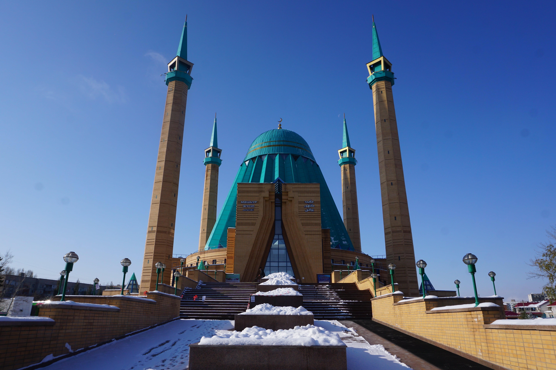 Die Moschee in Pawlodar