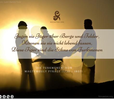 Turkmenistan Gedicht