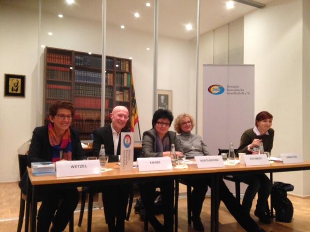 Deutsch-Kasachische Gesellschaft Podiumsdiskussion