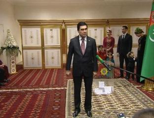 Wahl Gurbanguly Berdimuchammedow