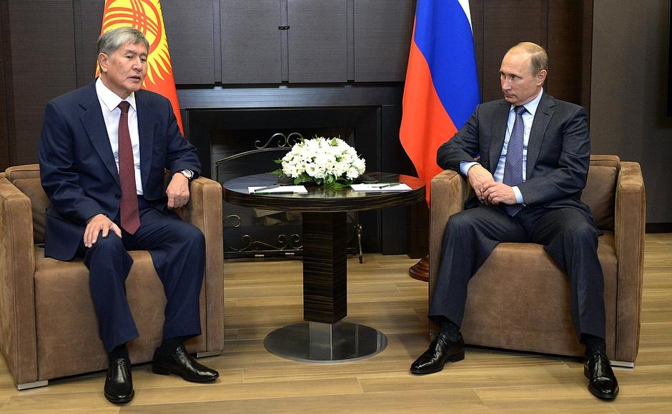 Putin Atambayev