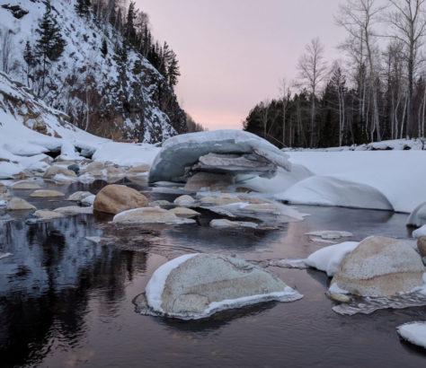 Fluss Kasachstan