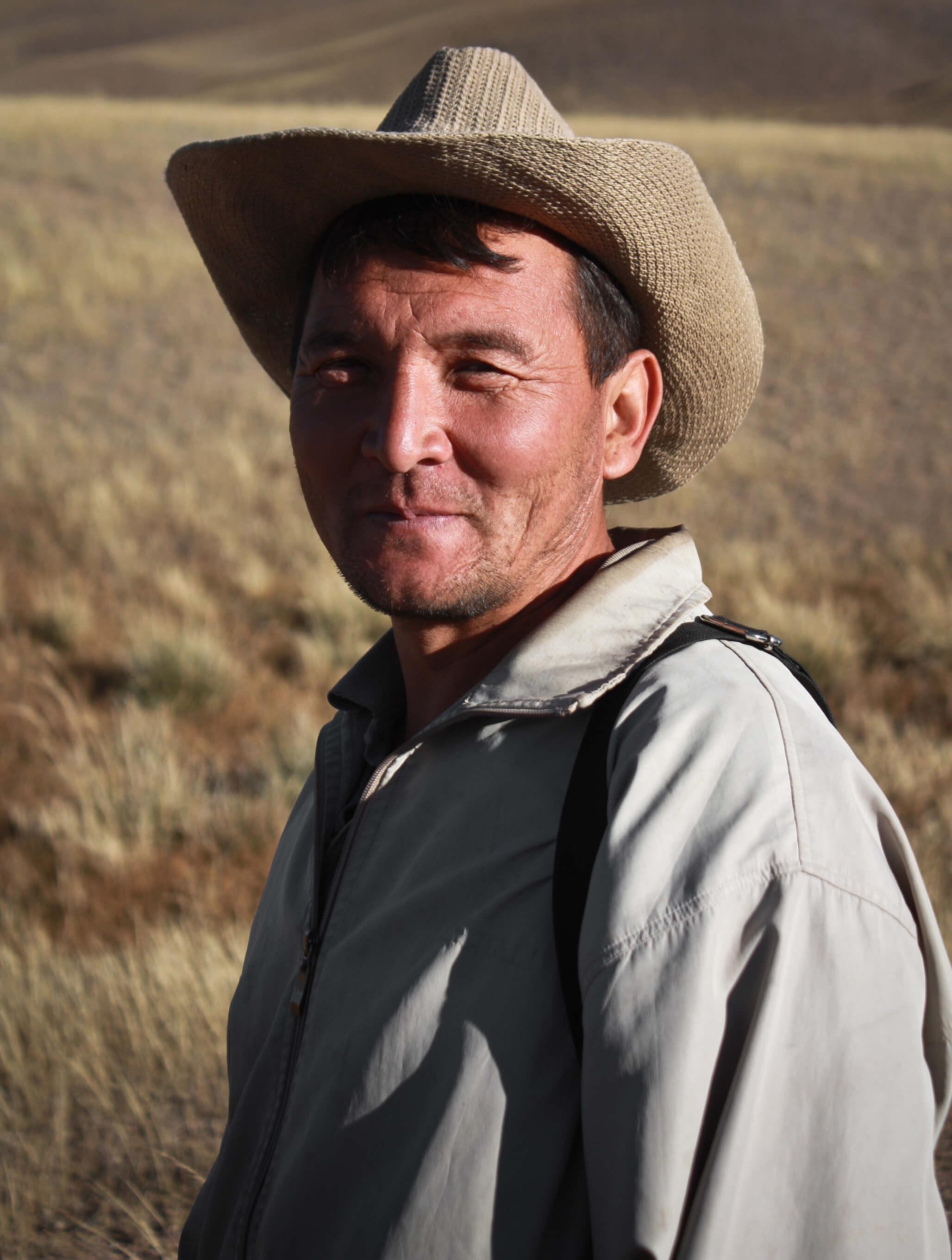 kirgischer Mann Ak-Talaa Brautraub