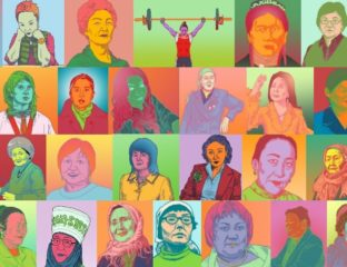 40 Frauen Kirgistan