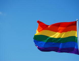 LGBT Flagge