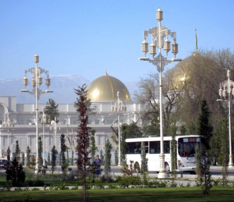 Präsidentenpalast Aschgabat