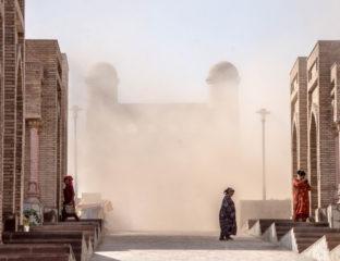 Sandsturm in Tadschikistan