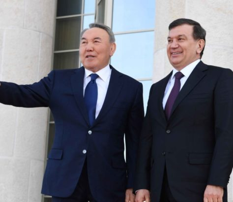 Kasachstan Usbekistan Mirsijojew Nasarbajew