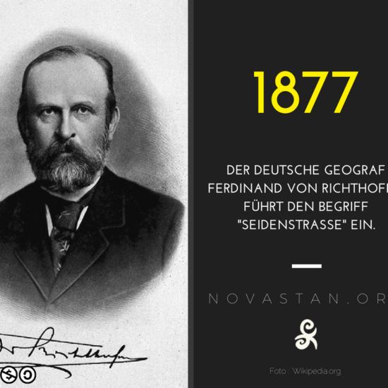 Geschichte Seidenstraße Begriff