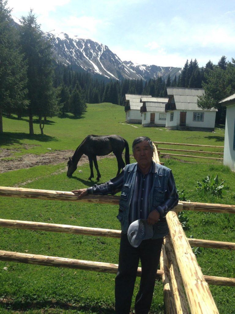 Menschen Kirgistan Abdysch Dscheti-Ögüz