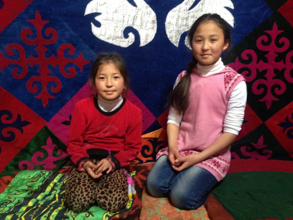 Menschen Kirgistan Kanykej Keremet Dscheti-Ögüz