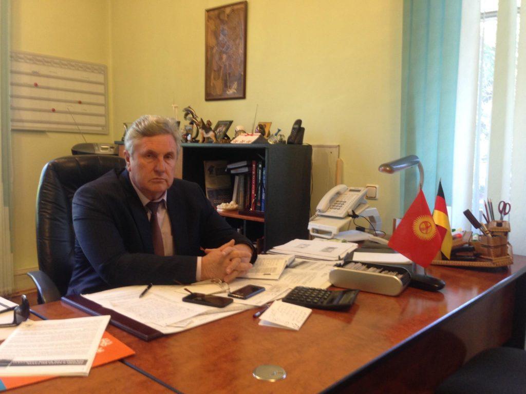 Menschen Kirgistan Valerij Dill