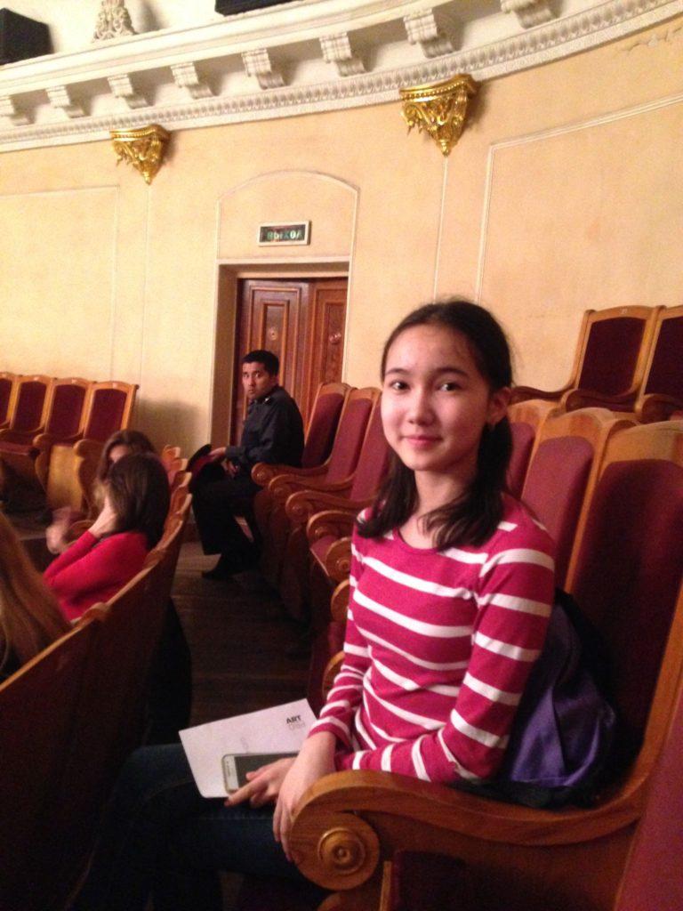 Menschen Kirgistan Adejana Bischkek Ballett