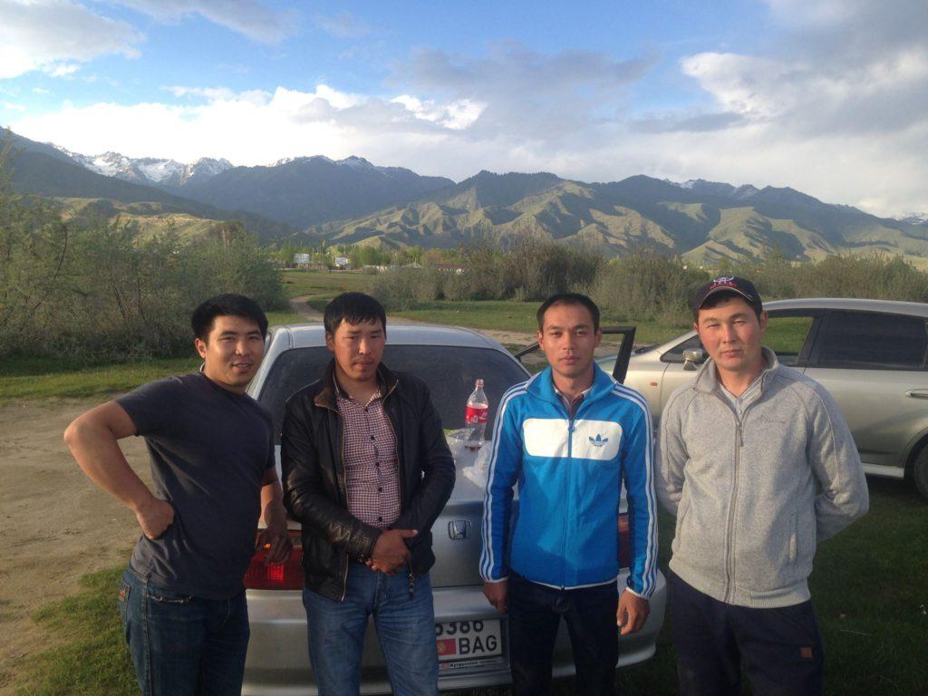 Menschen Kirgistan Issikköl