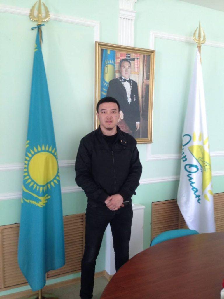 Menschen Kasachstan Asad Fort Schewtschenko