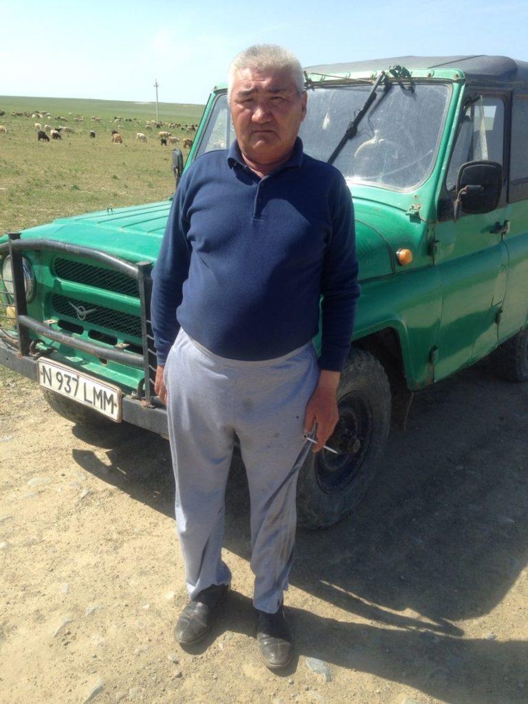 Menschen Kasachstan Khuanosch Aralsee