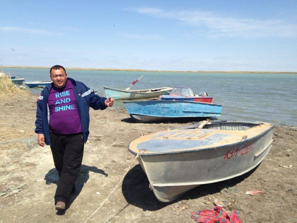 Menschen Kasachstan Gamal Aralsee