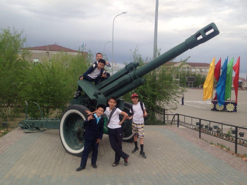 Menschen Kasachstan Kinder Aralsk