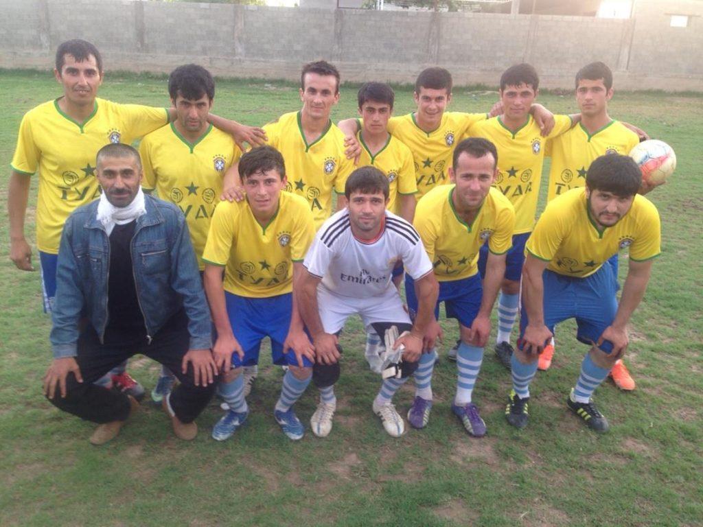 Menschen Zentralasiens Tadschikistan Tuda Fussballclub