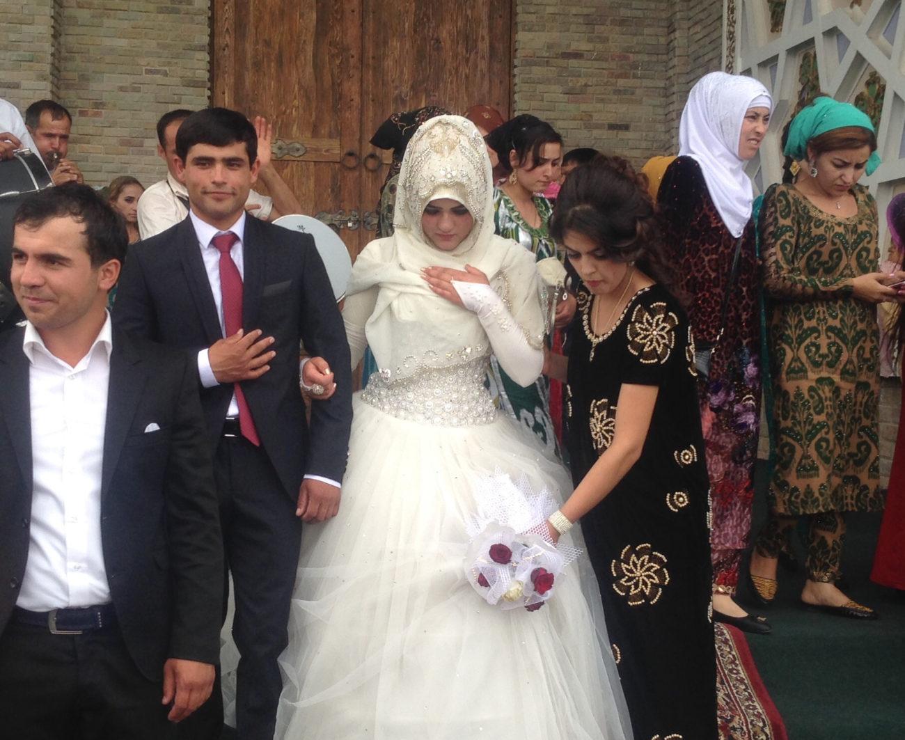 Menschen Zentralasiens Hochzeit SurchochaschmaSurchochaschma