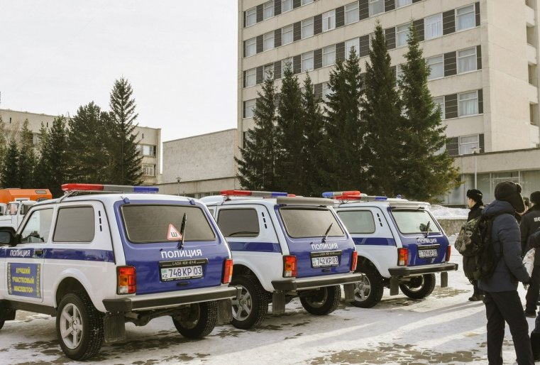 Zelinograd 25 Kasachstan Stepnogor Polizei