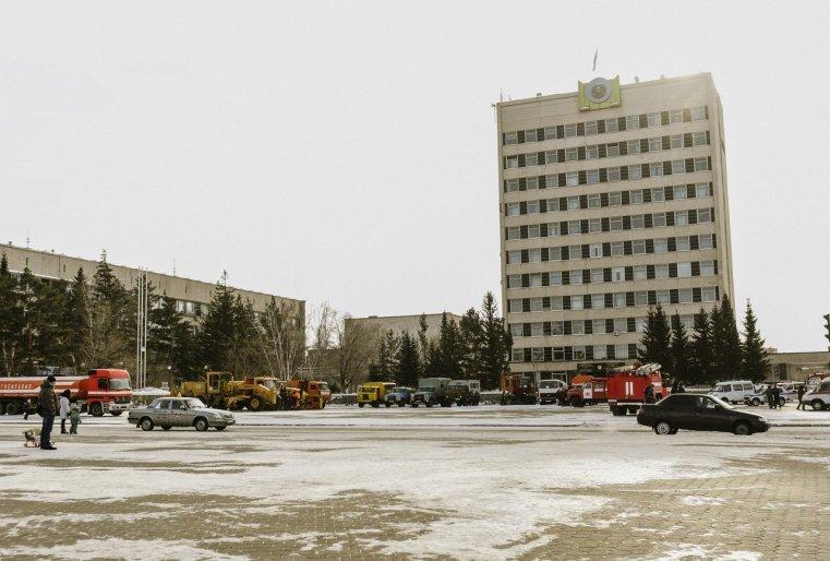 Zelinograd 25 Kasachstan Stepnogor Stadtverwaltung