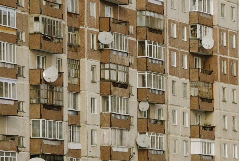 Zelinograd 25 Kasachstan Stepnogor Wohnhaus