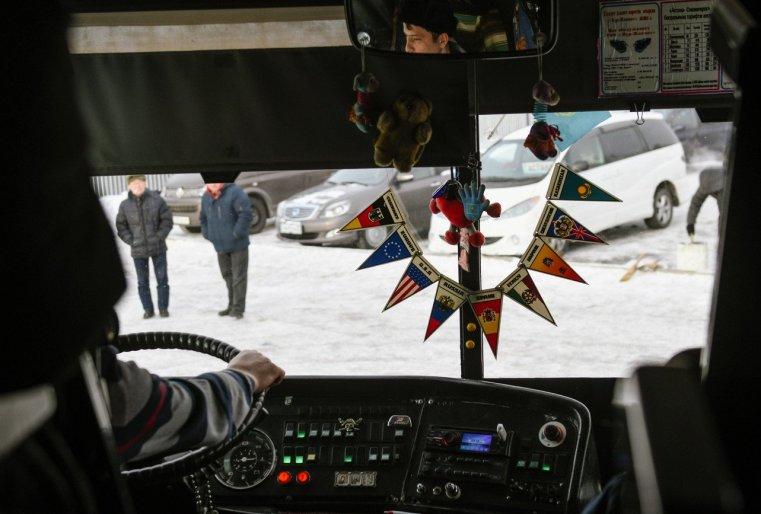 Zelinograd 25 Kasachstan Stepnogor Bus