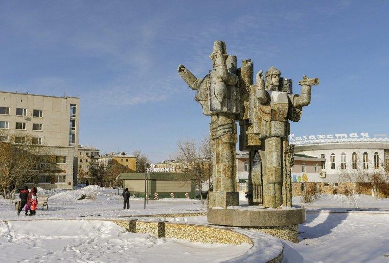Zelinograd 25 Stepnogor Kasachstan Denkmal