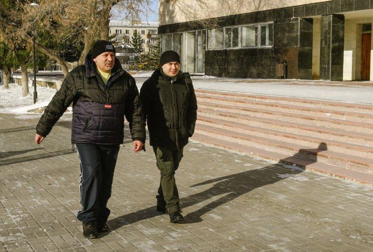 Zelinograd 25 Stepnogor Kasachstan Passanten