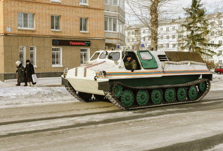 Zelinograd 25 Kasachstan Stepnogor Tank