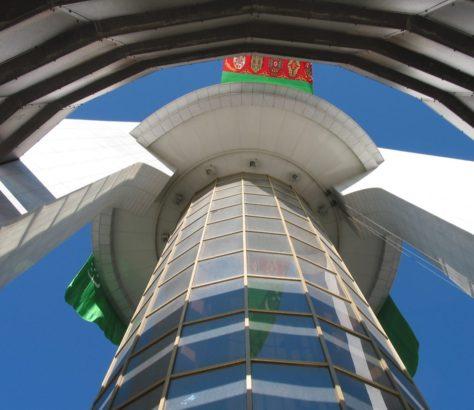 Nautralitätsbogen Aschgabat Turkmenistan
