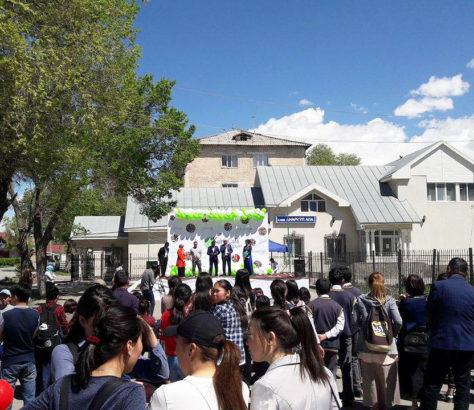 Kultur Café Naryn Festival Jugendkultur Kirgistan