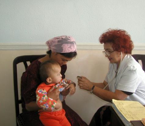 Ärztin Medizin Usbekistan