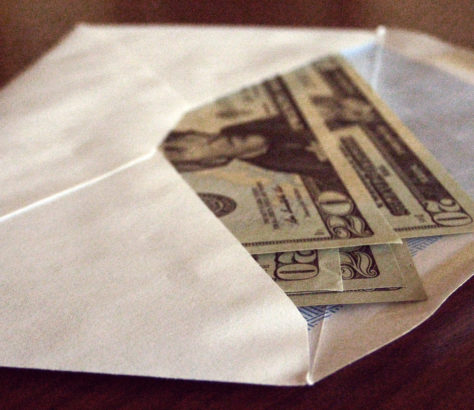 Korruption Bestechung Geld