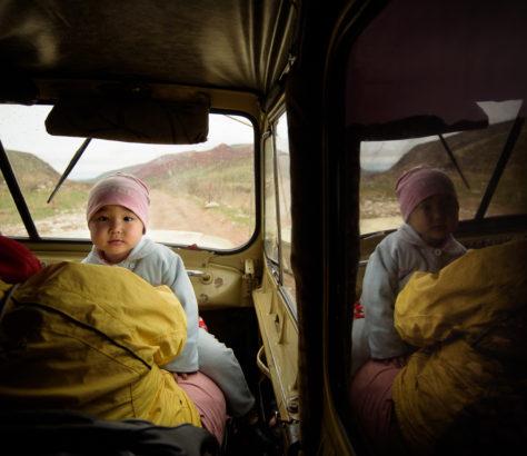 Bergfahrt Kirgistan UAZ