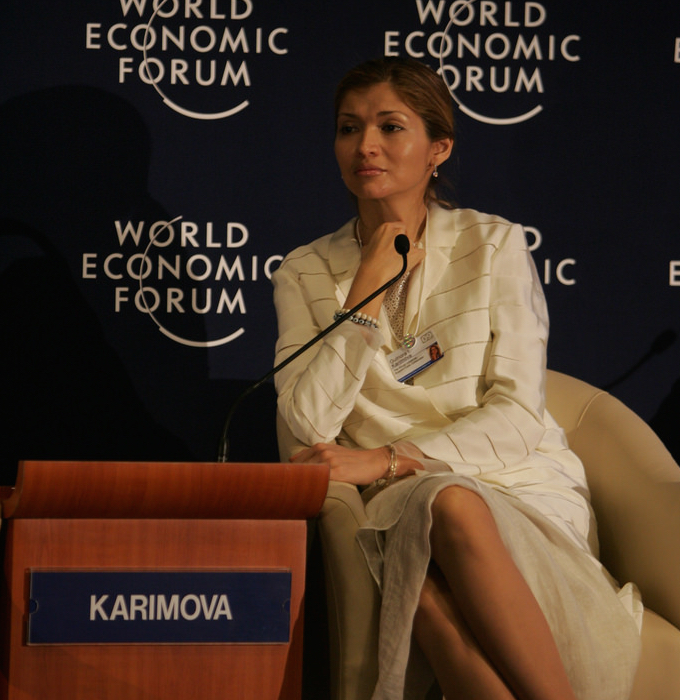 Usbekistan Karimova Gulnara Tashkent