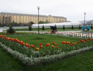 Regierungsgebäude Taschkent Usbekistan