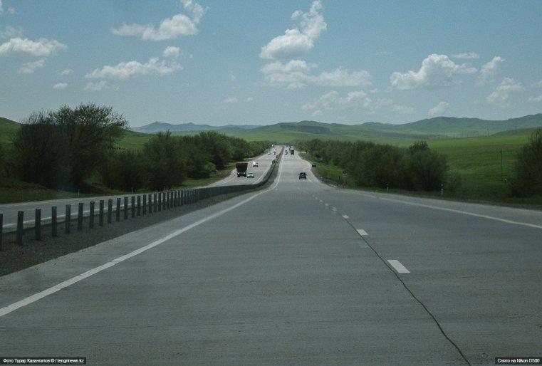 Autobahn Schymkent