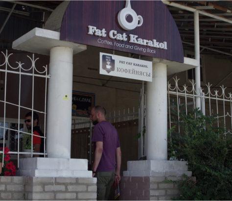 Karakol Issyk-Kul Kirgistan Sozial Café