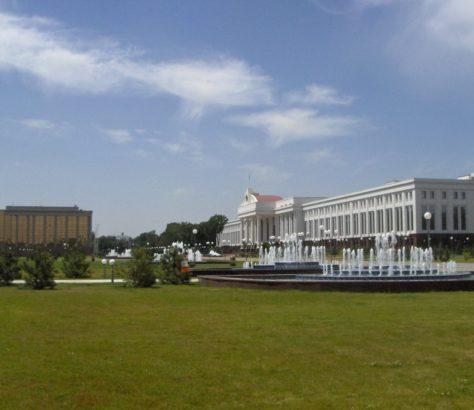 Regierung Usbekistan Taschkent Gebäude