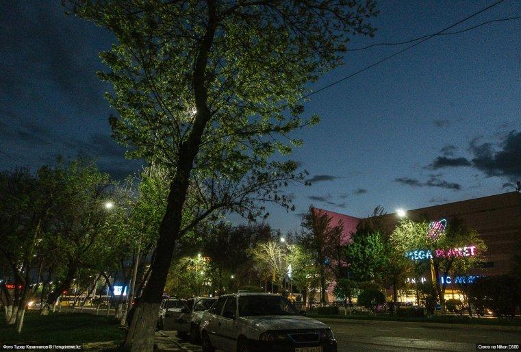 Schymkent Nacht