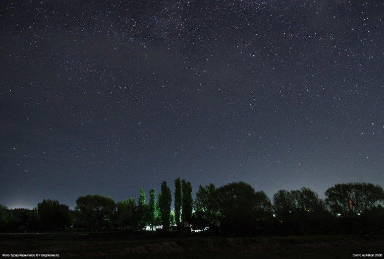 Sternenhimmel Schymkent