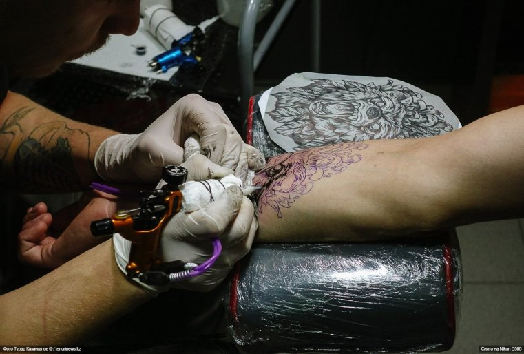Tattoo Schymkent