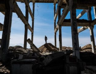 Ruine Kasachstan