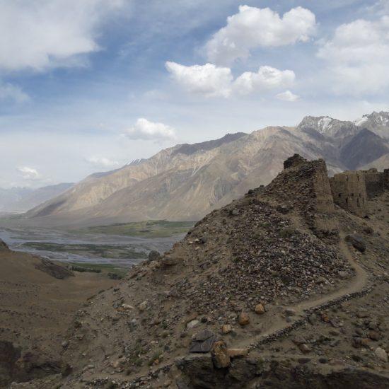 Die Festung Yamchun Tadschikistan Afghanistan