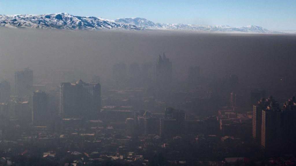 Almaty Smog Feinstaub Kasachstan Umwelt