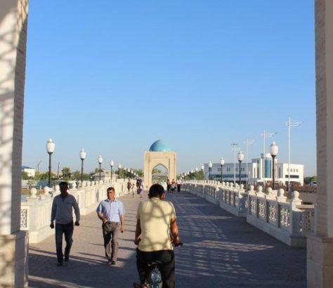 Brücke Usbekistan Qarshi
